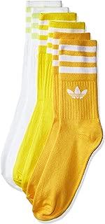 adidas Unisex Mid-Cut Crew Socks 3 Pairs Socks 3 Pairs