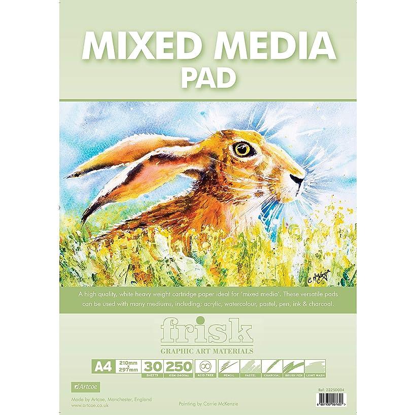 Frisk Mixed Media Pad, White, A4