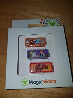 Disney Parks Hollywood Studios Toy Story Midway Mania, Voyage of the Little Mermaid, Lights, Motor, Action Extreme Stunt Show Set Magic Band Slider MagicBand MagicSliders