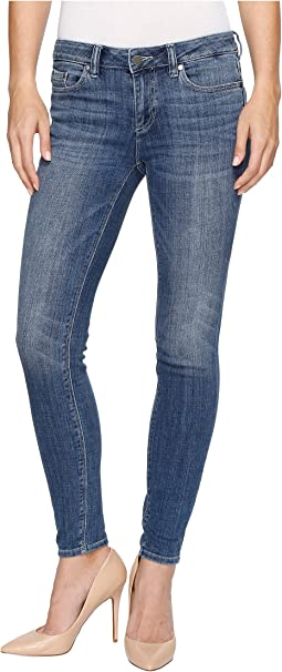 Indigo Five-Pocket Skinny Jeans in Blue Indigo