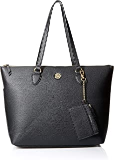 Anne Klein Solid Top Zip Tote