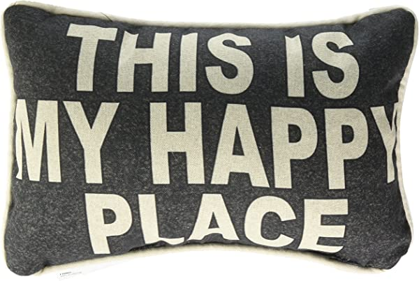 Manual Woodworker And Weavers This Is My This Is My Happy Place Word DTP Pillow