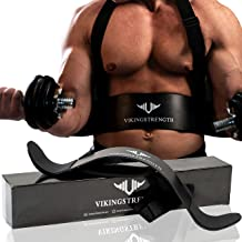 Vikingstrength Bicep Tricep Arm Blaster for Preacher Curl Effect Solid Arm Isolator Helps You Increase Muscles, Definition and Strength - Premium Quality for Weightlifting