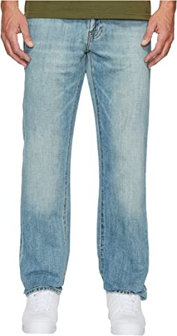 Lucky Brand - 410 Athletic Slim Fit Jeans in Pelican Lake