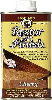 Howard Products RF9008 Restor-A-Finish, 8 oz, Cherry