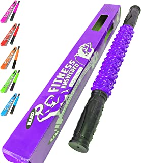 Fitness Answered Training The Muscle Stick Elite Hard Massage Roller - Purple