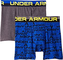 2-Pack Wordmark Cotton Boxer Set (Big Kids)