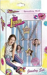 Soy Luna – Set of Charms for Bracelet (Kids Euroswan KD-WDSL016), Unica (Kids Euroswan WDSL016)