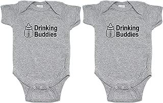 drinking buddies onesies