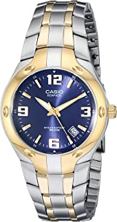 Casio Men's EF106SG-2AV Edifice Two-Tone Stainless Steel Watch