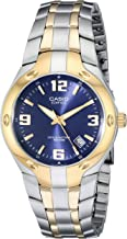 Casio Men's EF106SG-2AV Edifice Two-Tone Stainless Steel Watch