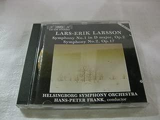 Lars-Erik Larsson Symphony No.1 In D Major Op.2 Symphony No. 2, Op.17