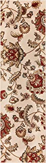 Well Woven Barclay Ashley Oriental Ivory Floral Area Rug 2'3