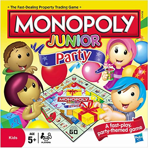 [UK-Import]Monopoly Junior Party