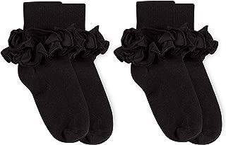 Girls Misty Ruffle Turn Cuff Socks 2 Pair Pack