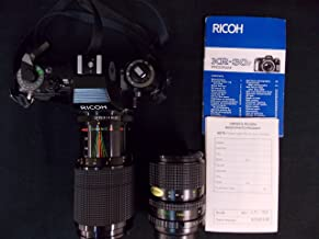 RICOH KR-30SP 35MM Film Camera with 2 MACRO ZOOM 80-200MM & 35-70MM LENS,1985 MADE IN JAPAN