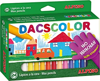 Alpino DC050295 - Estuche 24 ceras