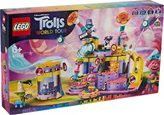 مجموعة ترولز - حفلة فايب سيتي مع مجسم بوبي وبرانش وكوبر وهيكوري من ليغو- 41258