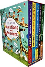 Usborne Lift-the-flap Questions and Answers Collection 5 Books Box Set by Katie Daynes