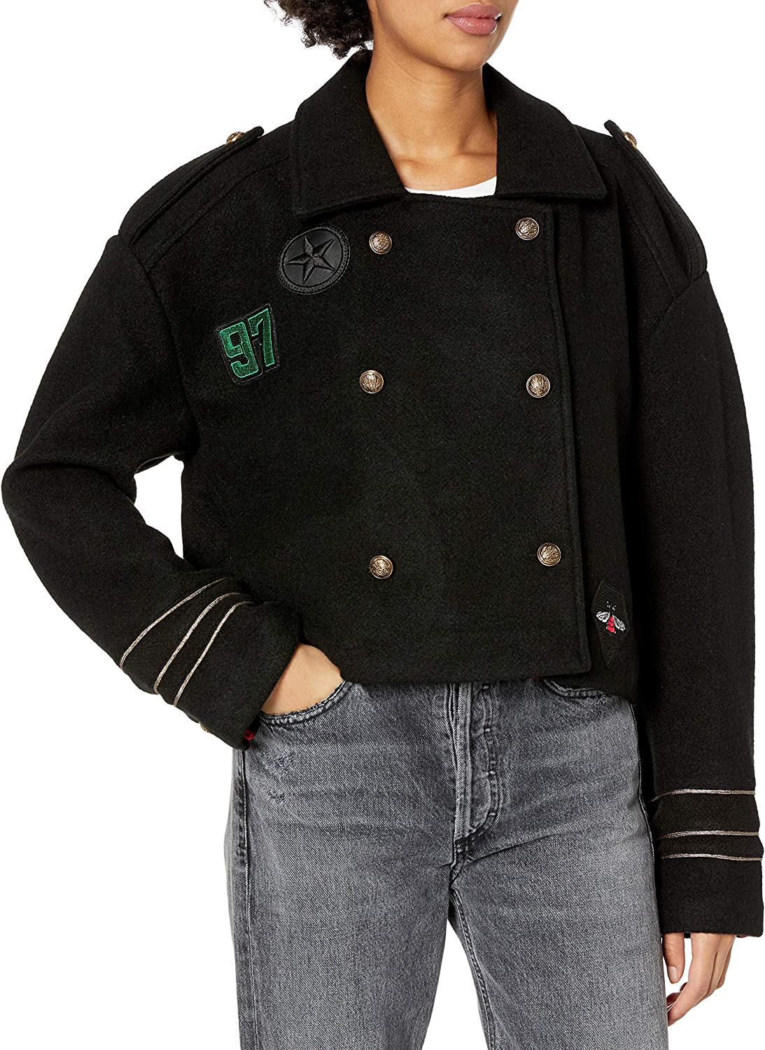 Ranking TOP4 BLANKNYC womens Jacket Military Max 66% OFF