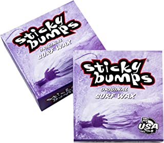 Sticky Bumps Cold Surf Wax Handwrapped Label (Pack of 3)