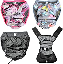 Leak Proof Waterproof Cat Dog Diapers Female Washable Reusable Absorbent Pad Padding Lined for Small Medium Large Pets