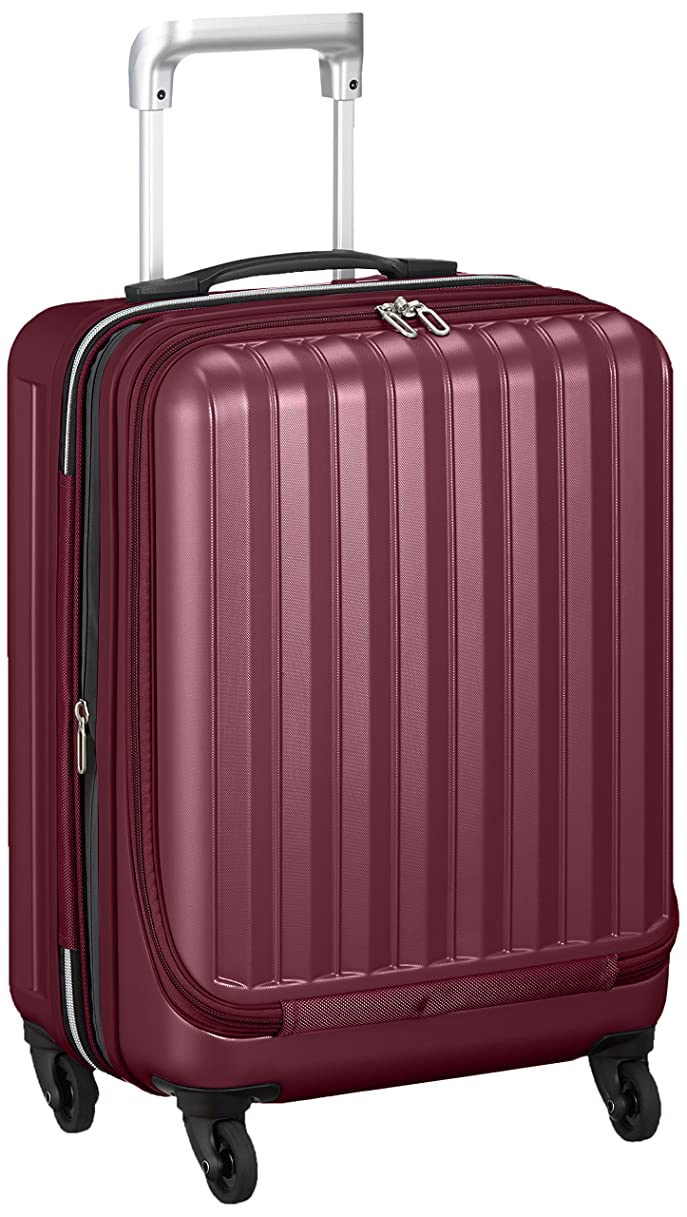 [バウンドリップ] スーツケース ジッパー BD33 フロントオープン エキスパンド機能付き 保証付 35L 53 cm 3.3kg