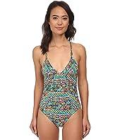 Trina Turk Bora Bora Stripe One-Piece