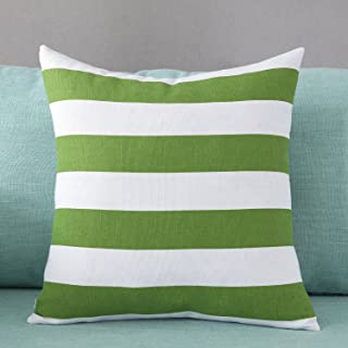 Best green striped cushions Reviews