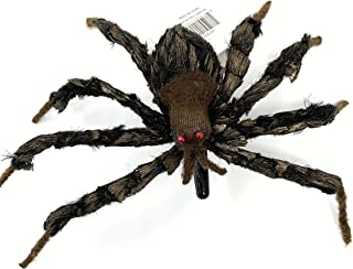 "Bethany Lowe Halloween Tarantula Spider Fascinator Hair Clip, 10"" Spider Brown"