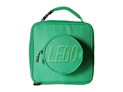 LEGO Brick Lunch Bag (Green) Duffel Bags