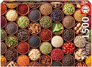 Educa 1500 Herbs and Spices Picture Puzzle - Jigsaw Puzzles