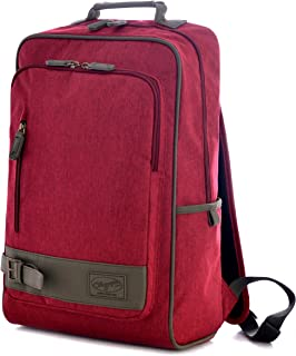 Olympia Apollo 18-Inch Backpack RD, Maroon Red, One Size