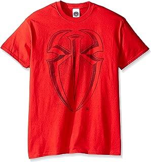 WWE Men's Roman Reigns Logo T-Shirt