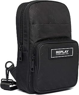 Replay Herren FM3501 Rucksackhandtasche, 098 Black, UNIC