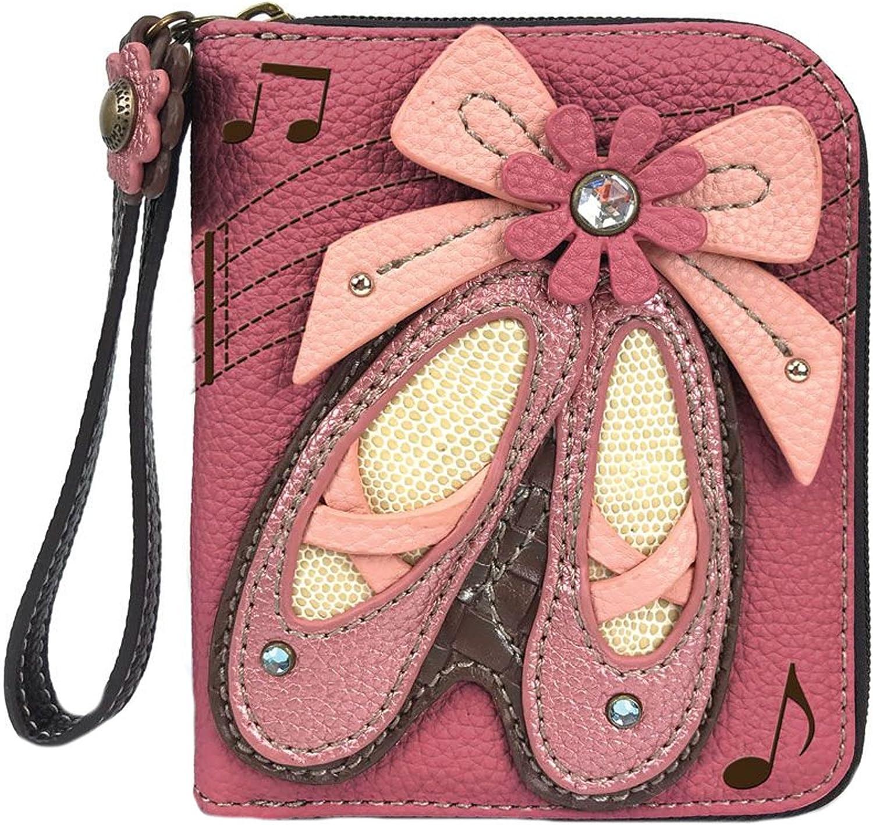 Chala Ballerina Ballet Shoes Wallet - Zip-Around New life Max 85% OFF Wristlet