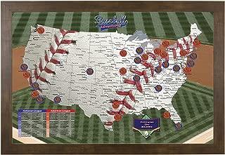 Best baseball park map Reviews