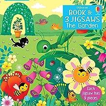 Usborne Book and Jigsaw: The Garden