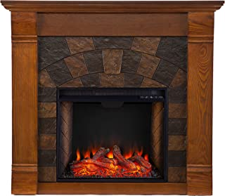 Best faux stone fireplace electric Reviews