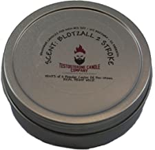 Testosterone Candle Company Blotzall Motocross Blended Castor Oil Scented Candle 4oz
