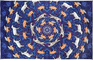 Sunshine Joy 3D Pink Floyd Animals Tapestry Psychedelic Wall Art Huge 60x90 Inches