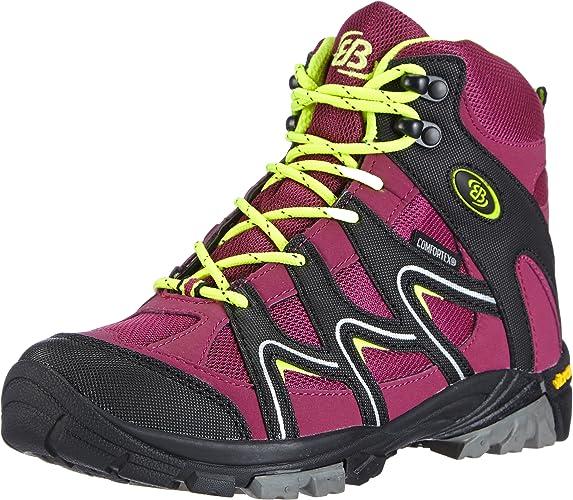 EB-Kids Vision High Kids, Chaussures de Randonnée Hautes Fille