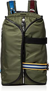 Diesel Men's Keep The Flaw F-Law Back-Backpack, olive night, One Size