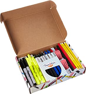 Sharpie, Paper Mate, Expo - Writing Essentials Kit: Sharpie Markers & Highlighters, Paper Mate Pens, EXPO Dry Erase & More, 20 Count