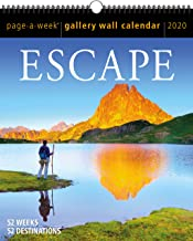 Outdoors Page-A-Week Gallery Wall Calendar 2020 [10
