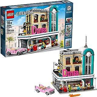 LEGO Creator Expert Downtown Diner 10260 Building Kit,...