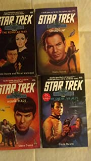 Star Trek Rihannsu Books 1-4, My Enemy, My Ally, the Romulan Way, Swordhunt, Honor Blade (Star Trek Rihannsu series)