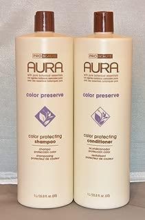 Aura Color Protecting Shampoo & Conditioner Set 33.8 oz each