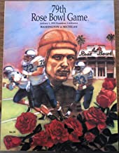 1993, 79th Rose Bowl Game: Washington vs Michigan (Official Souvenir Magazine)