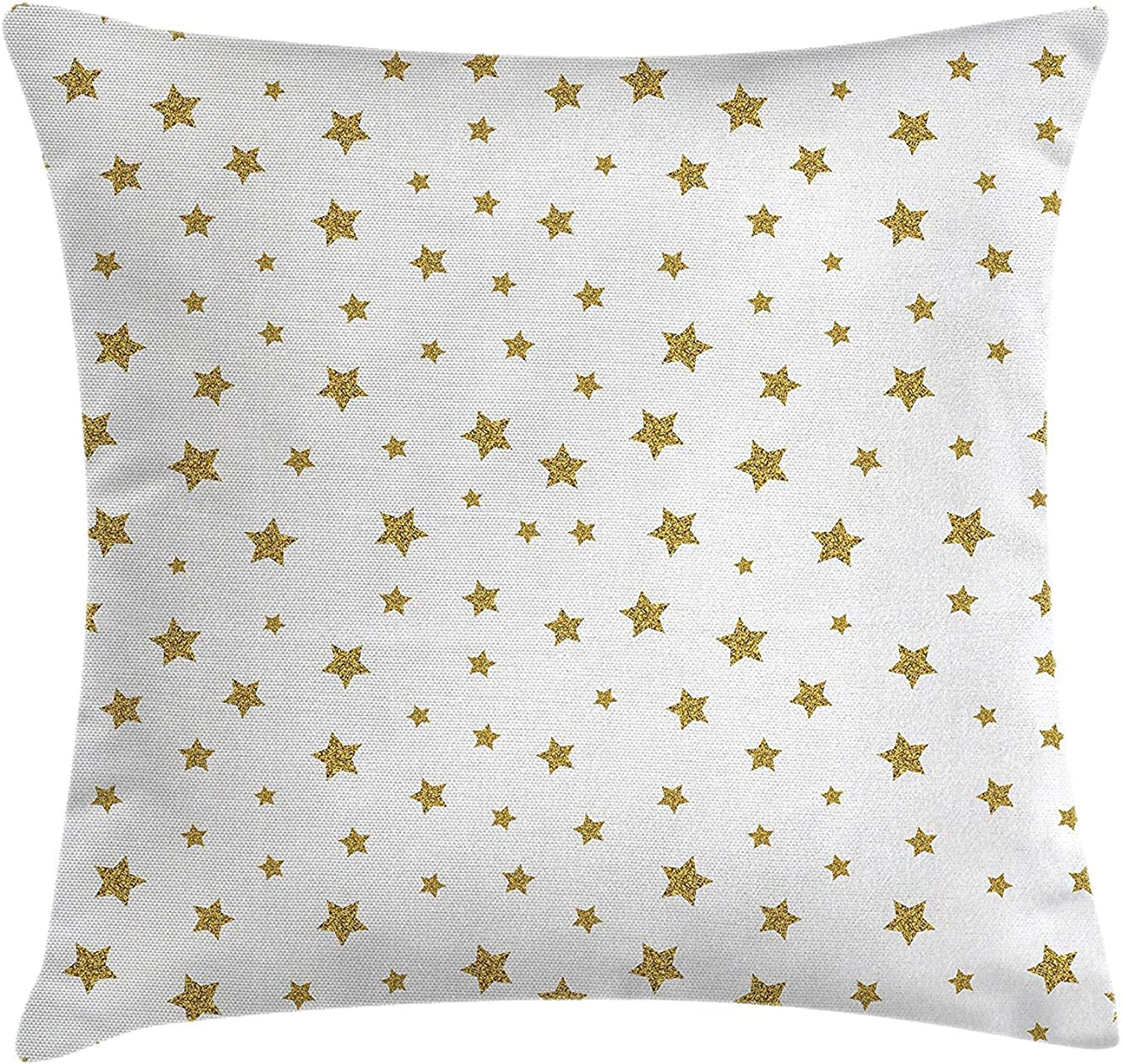 Anzona Star Throw Pillow Cushion Cover,20 x 59 inch Two Sides, Stars Pattern Illustration Creative Stylish Birthday Bachelorette Theme Print,Pillow Sham Cases for Couch Sofa Chair Cushion